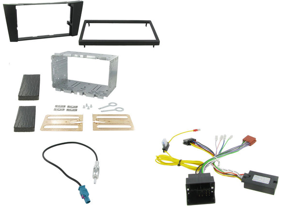 CTKMB05 COMPLETE DOUBLE DIN FITTING KIT MERCEDES CLC 2005> - SAFE'N'SOUND