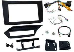 CTKMB16 COMPLETE DOUBLE DIN FITTING KIT MERCEDES  E-CLASS 2009 - 2012 W212 ONLY NOT FOR COUPE/CONVERTIBLE C207/A207 - SAFE'N'SOUND