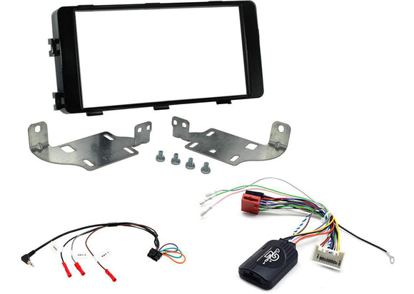 CTKMT09 DOUBLE DIN FITTING KIT FOR MITSUBISHI  OUTLANDER 2013> - SAFE'N'SOUND
