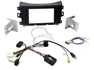CTKNS09 COMPLETE DOUBLE DIN FITTING KIT NISSAN  NAVARA - 2015> - SAFE'N'SOUND