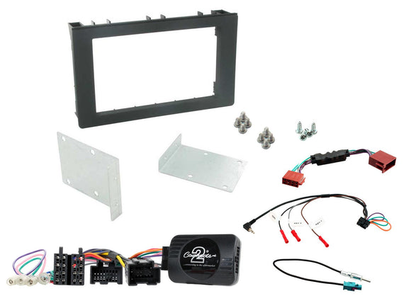 CTKSA01 FULL DOUBLE DIN FITTING KIT FOR SAAB  9-3 - 2008> - SAFE'N'SOUND