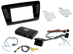 CTKSK04 FULL DOUBLE DIN FITTING KIT FOR SKODA  OCTAVIA - 2014 - SAFE'N'SOUND
