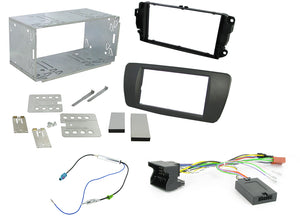 CTKST02 FULL DOUBLE DIN FITTING KIT FOR SEAT  IBIZA 2008 > - SAFE'N'SOUND