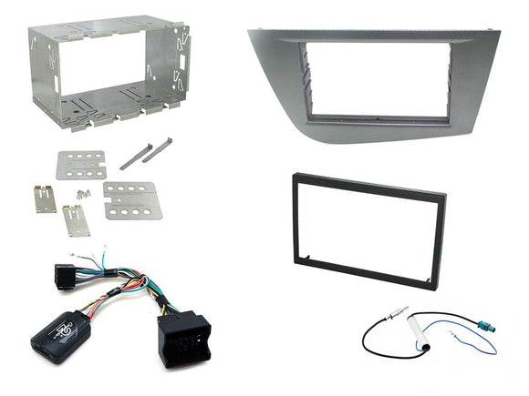 CTKST06 FULL DOUBLE DIN FITTING KIT FOR SEAT   LEON 2005 - 2012 - SAFE'N'SOUND