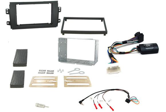 CTKSZ05 FULL DOUBLE DIN FITTING KIT FOR SUZUKI  SX4 2006 - 2014 - SAFE'N'SOUND