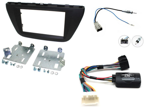 CTKSZ06 FULL DOUBLE DIN FITTING KIT FOR SUZUKI  SX4 S-CROSS - 2013 - SAFE'N'SOUND
