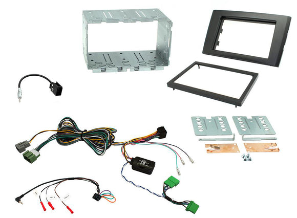 CTKVL02 FULL DOUBLE DIN FITTING KIT FOR VOLVO  XC90 - 2006 - 2014 - SAFE'N'SOUND