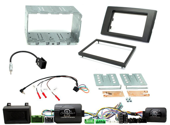CTKVL04 FULL DOUBLE DIN FITTING KIT FOR VOLVO  XC90 - 2006 - 2014 - SAFE'N'SOUND