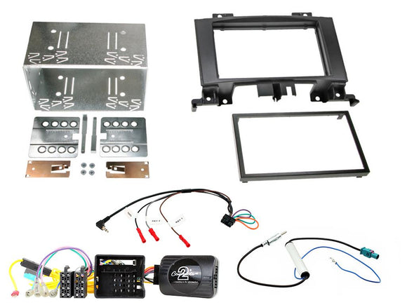 CTKVW10 DOUBLE DIN FULL FITTING KIT FITS VW  CRAFTER - 2014> - SAFE'N'SOUND