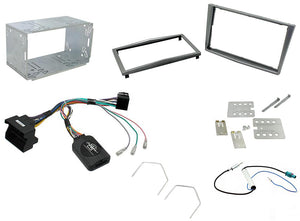 CTKVX10 DOUBLE DIN COMPLETE FITTING KIT FOR VAUXHALL  ASTRA - 2004 - 2010 CORSA - 2006 - 2009 CD30/CDC40/CD50/CD70 - SAFE'N'SOUND