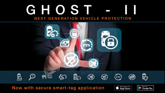 Ghost-II Immobiliser System - The Ultimate Vehicle Security System - SAFE'N'SOUND