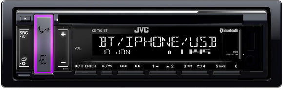 JVC KD T801BT - SAFE'N'SOUND