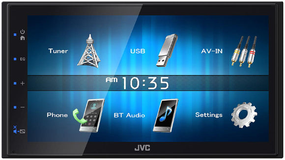 JVC KW M24BT - SAFE'N'SOUND