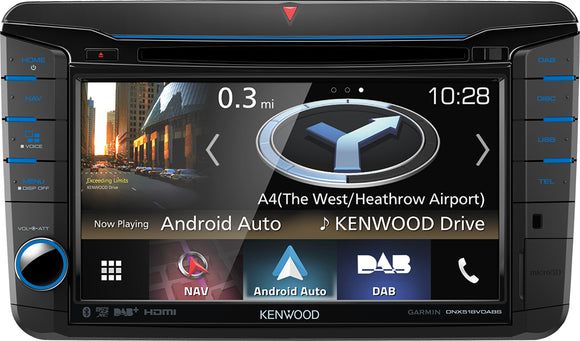 KENWOOD DNX 518VDABS MIBT6 - SAFE'N'SOUND