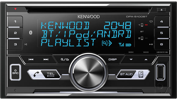 KENWOOD DPX 5100BT - SAFE'N'SOUND
