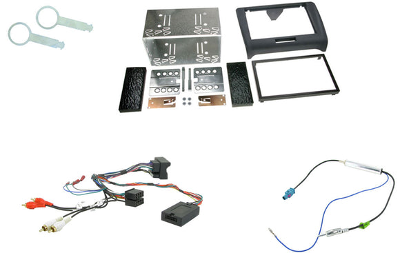 CTKAU03 FULL DOUBLE DIN FITTING KIT FOR AUDI TT MKII - 2006> - SAFE'N'SOUND