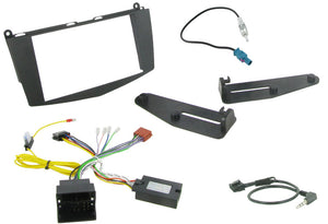 CTKMB03 DOUBLE DIN FITTING KIT FOR MERCEDES C-CLASS W204 2007>  Note:W204 model. - SAFE'N'SOUND
