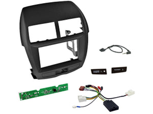 CTKMT02 DOUBLE DIN FITTING KIT FOR MITSUBISHI ASX - 2010> - SAFE'N'SOUND