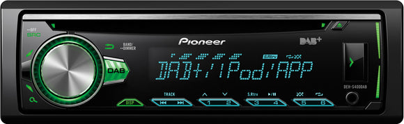 PIONEER DEH S400DAB - SAFE'N'SOUND