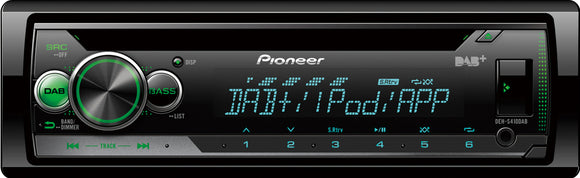 PIONEER DEH S410DAB - SAFE'N'SOUND