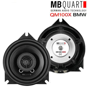 "MB Quart QM 100X BMW 4"" Perfect Fit Front Door Speakers for BMW Models - SAFE'N'SOUND"