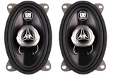 "OE Audio 4"" x 6"" Co-axial car speakers 700 Watts!"