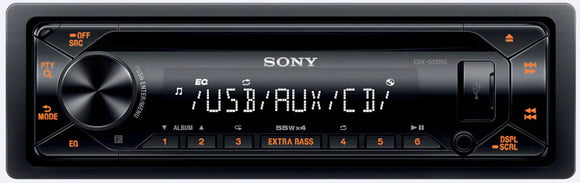 SONY CDX G1301U - SAFE'N'SOUND