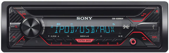 SONY CDX G3200UV - SAFE'N'SOUND