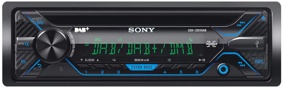 SONY CDX G3201DAB Radio CD Receiver - SAFE'N'SOUND