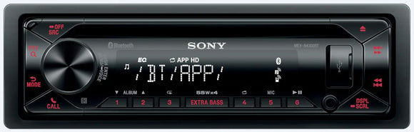 SONY MEX N4300BT - SAFE'N'SOUND