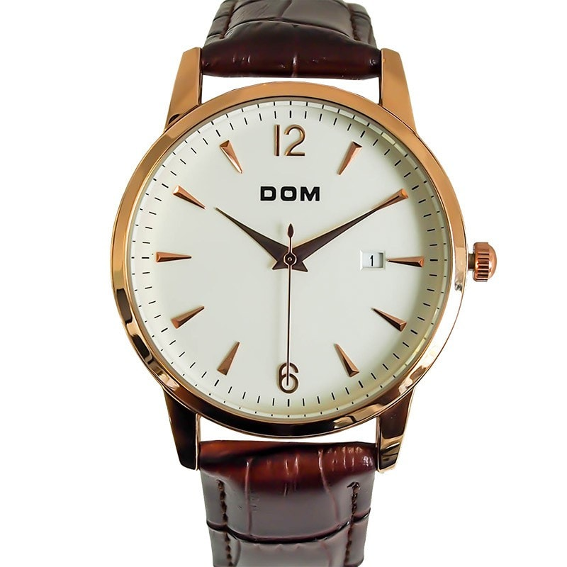 The DOM Minimal - Rose Gold 40mm