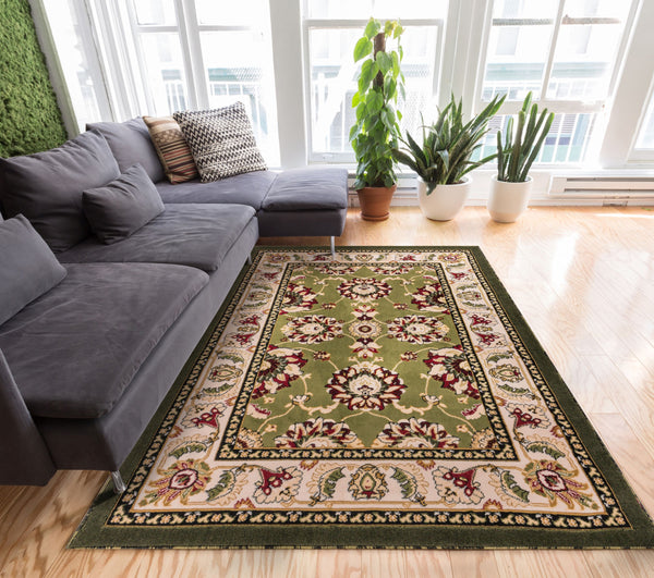 Fine Persian Kashan Green Floral Persian Area Rug Download Free Architecture Designs Crovemadebymaigaardcom