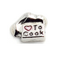 Love To Cook Chefs Hat Charm