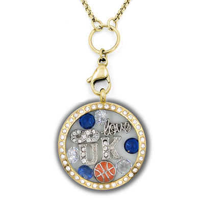 Infinity Love Kentucky Basketball Locket