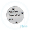 All Of Me Backplate