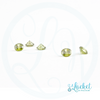 Apple-Green Crystal Stone - Set of 5