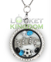 Newcastle United F.C. Charm Locket