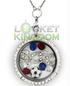 Stoke City F.C. Charm Locket
