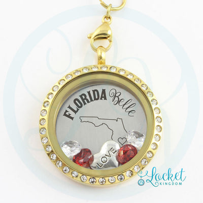 Florida Belle Charm Necklace
