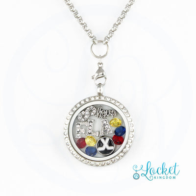 Florida Hockey Charm Necklace