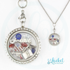 God & Country Charm Necklace