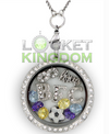 Infinity Love Burnley F. C.Charm Locket