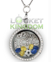 Infinity Love Leicester City F.C. Charm Locket