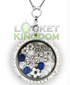 Infinity Love QPR F.C. Charm Locket