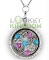 Infinity Love Horses Charm Locket