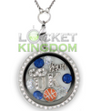 Kentucky Basketball Charm Necklace