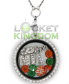 Infinity Love Miami Basketball Locket
