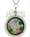 Infinity Love Oregon Basketball Locket