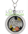Infinty Love Wichita Basketball Locket