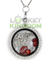 Wisconsin Football Charm Locket
